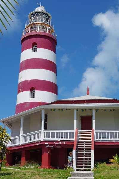 The lighthouse is still operated manually and open for self-guided tours every day.